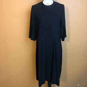 & other stories Black Long Sleeve Dress
